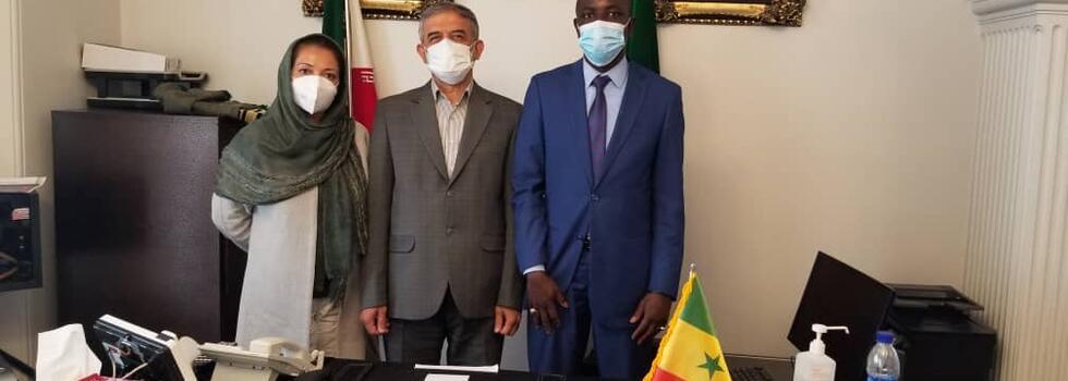 در نشست مشترک سفیر کشور سنگال با مدیر کل انجمن جهانی پزشکان صلح و سلامت،  بر گسترش روابط دو کشور در بخش بهداشت و درمان تاکید شد.