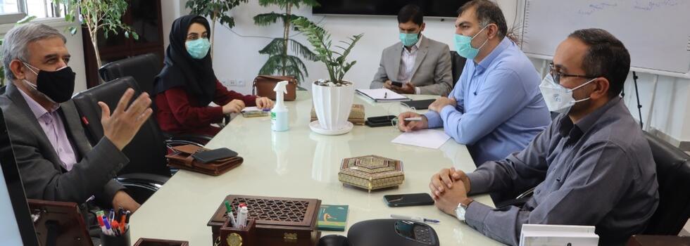 نشست مشترک مدیران صندوق رفاه دانشجویان وزارت بهداشت و انجمن جهانی پزشکان صلح و سلامت